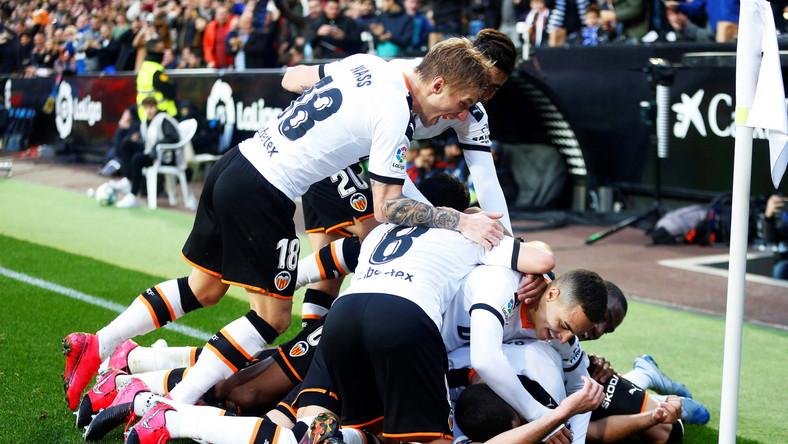 Radość piłkarzy Valencii