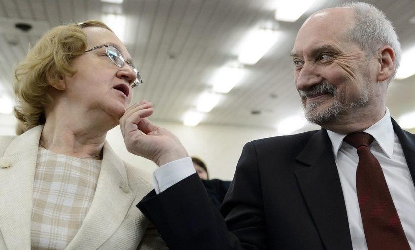 Antoni Macierewicz z żoną