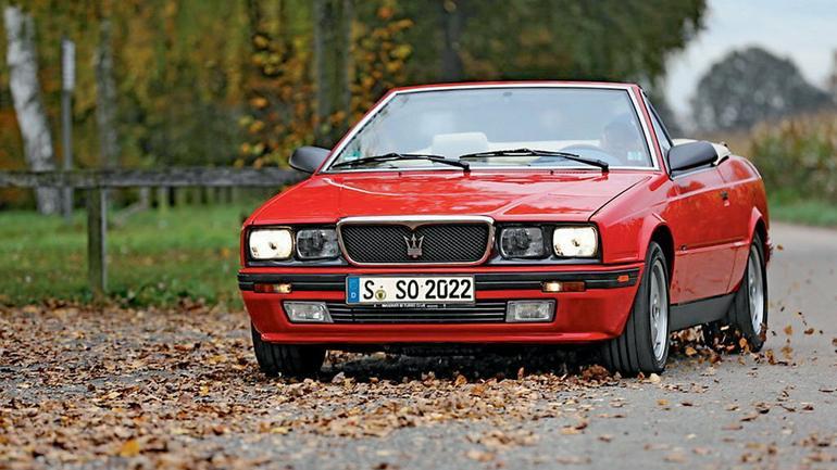 Maserati Biturbo Spyder - najważniejszy jest doładowany silnik