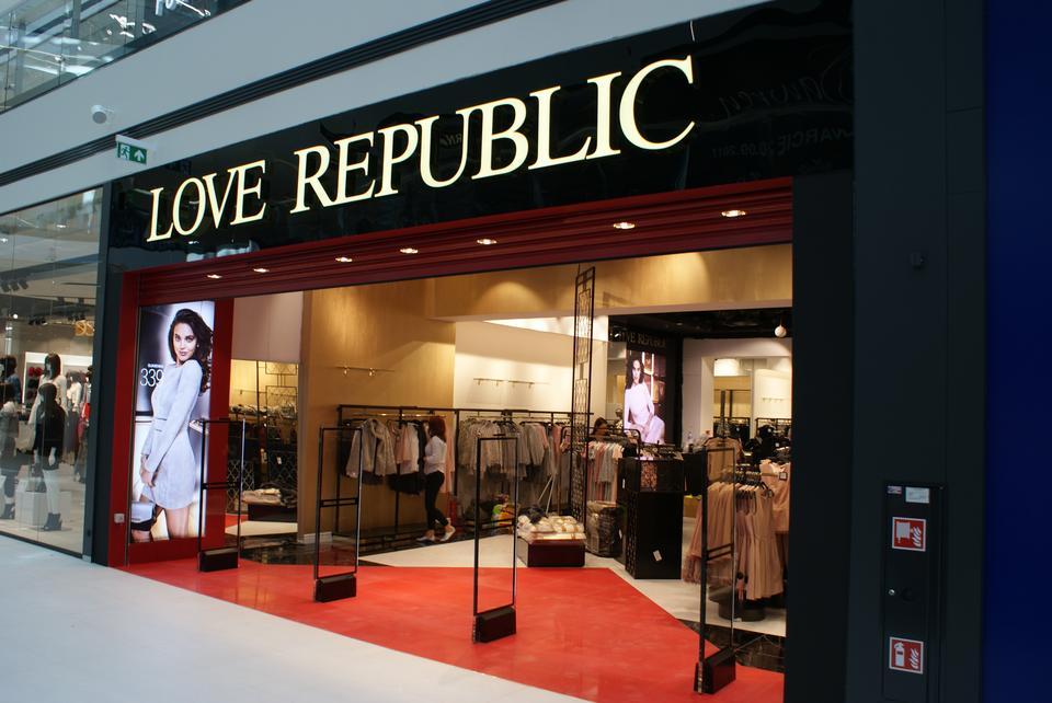 Love Republic – salon odzieżowy rosyjskiej marki
