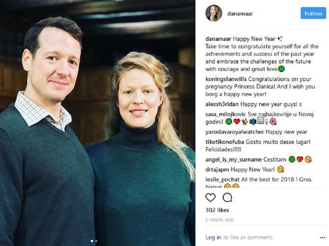 Srpska princeza poslala novogodišnju čestitku: Donji deo slike krije detalj koji je PRIZOR DANA