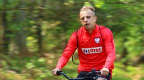 Polscy piłkarze przesiedli się na rowery