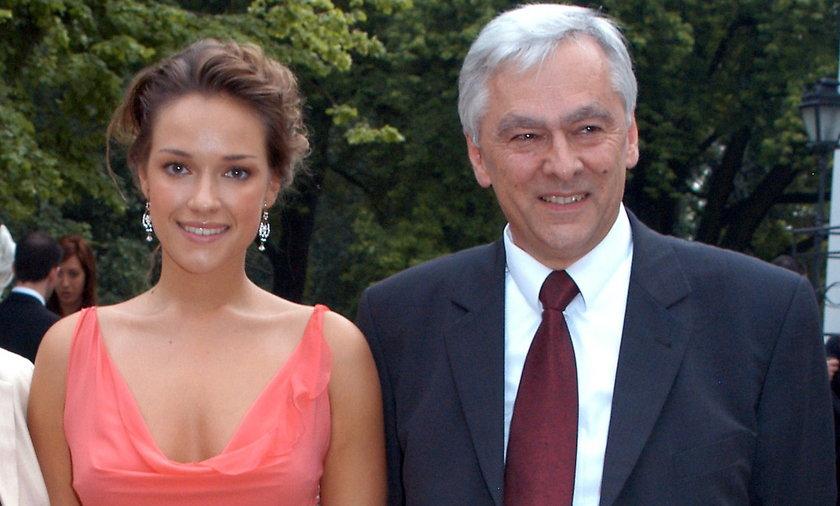 Alicja Bachleda Curuś z rodzicami