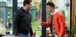 """""""Barwy szczęścia"""" odcinek 2446. Damian odbywa z Mirkiem poważną rozmowę"""