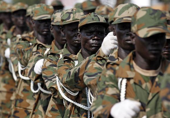 Vojska Južnog Sudana ima embargo na uvoz oružja
