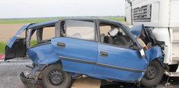 Zginął 70-letni kierowca