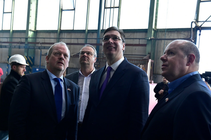 Aleksandar Vučić, Brodogradilište, Sremska Mitrovica 04_TANJUG_foto srdjan ilic