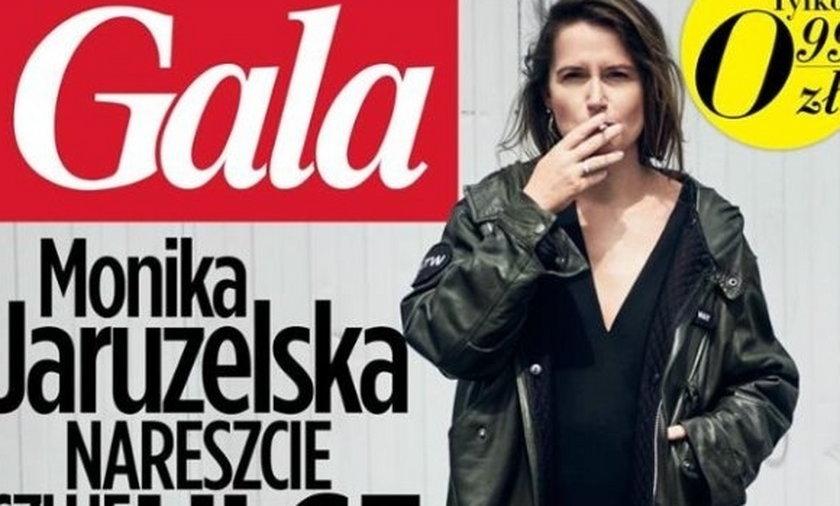 Monika Jaruzelska, Gala, okładka