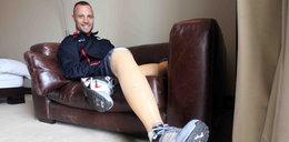 Pistorius tak schudł, że spadająmu protezy