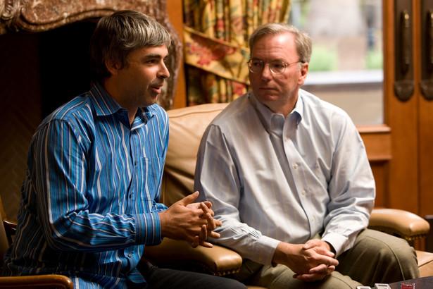 Larry Page i Eric Schmidt