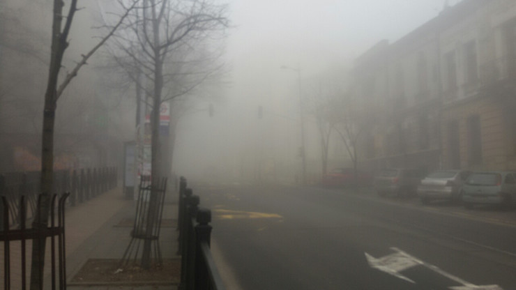 magla u Beogradu