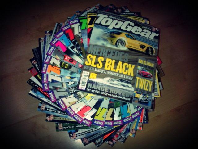 Giełda TopGear - zbierz całą kolekcję magazynu TG!