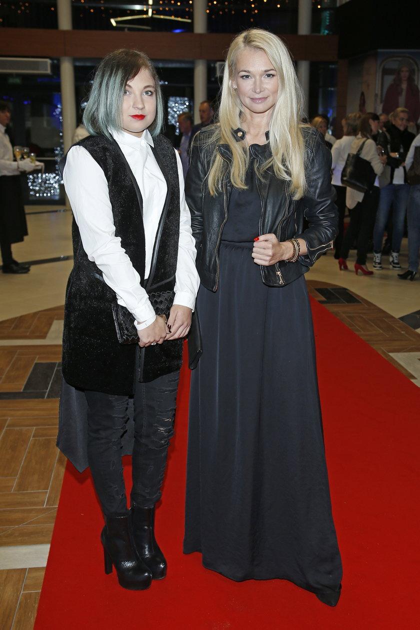 Ewa Pacuła z córką
