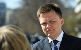 Hołownia: Kaczyński ukradł nam Polskę, a Gowin stwierdził, że będzie wspólnikiem