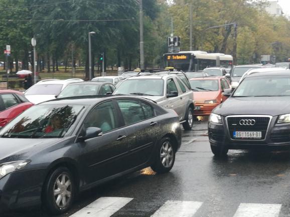 Krkljanac na glavnim saobraćajnicama