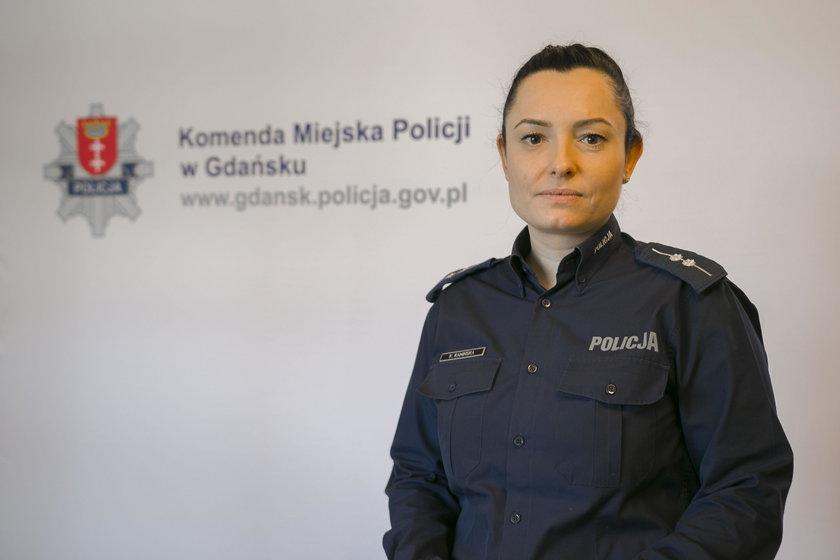 st. asp. Karina Kamińska z gdańśkiej policji