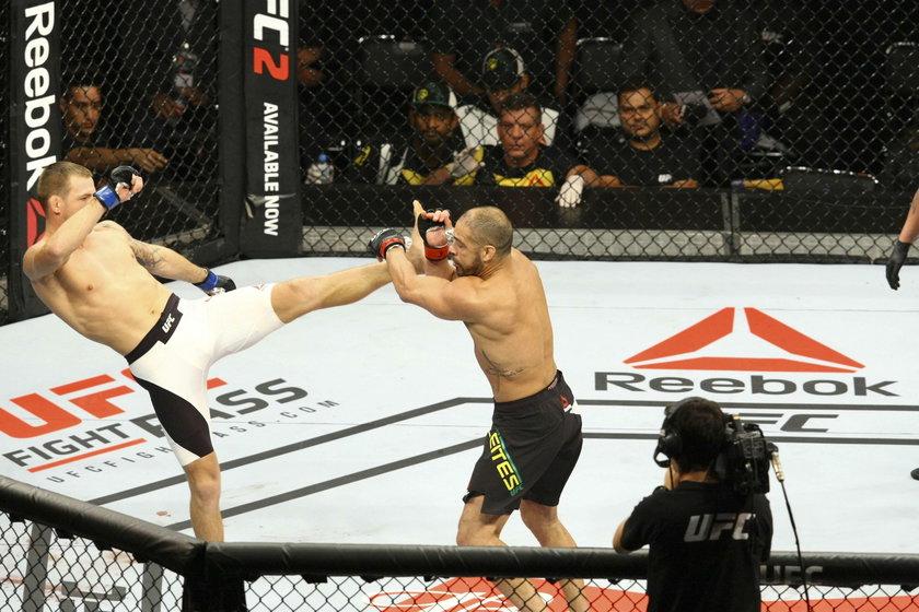 Krzysztof Jotko pokonał Thalesa Leitesa. Pas UFC już blisko