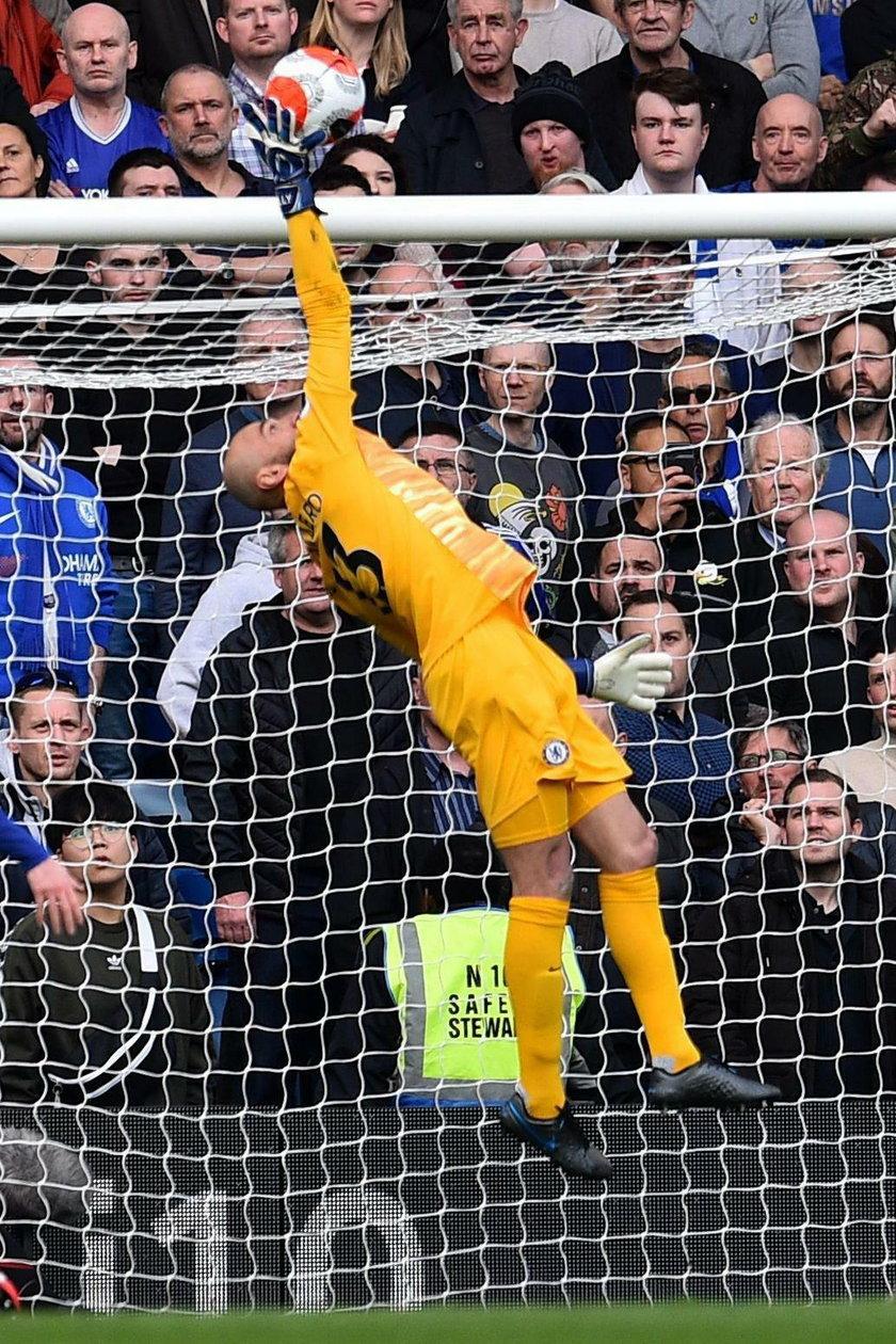Caballero od sześciu lat zawsze jest rezerwowym – najpierw w Manchesterze City, a teraz w Chelsea.
