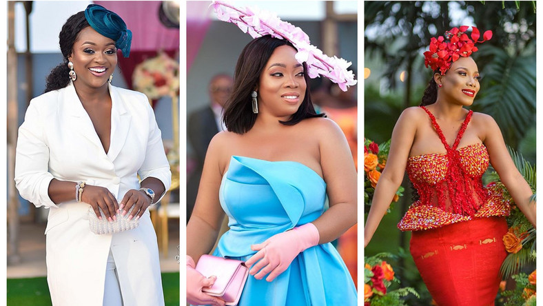 Jackie Appiah, Moesha Boduong and Zynnell Zuh