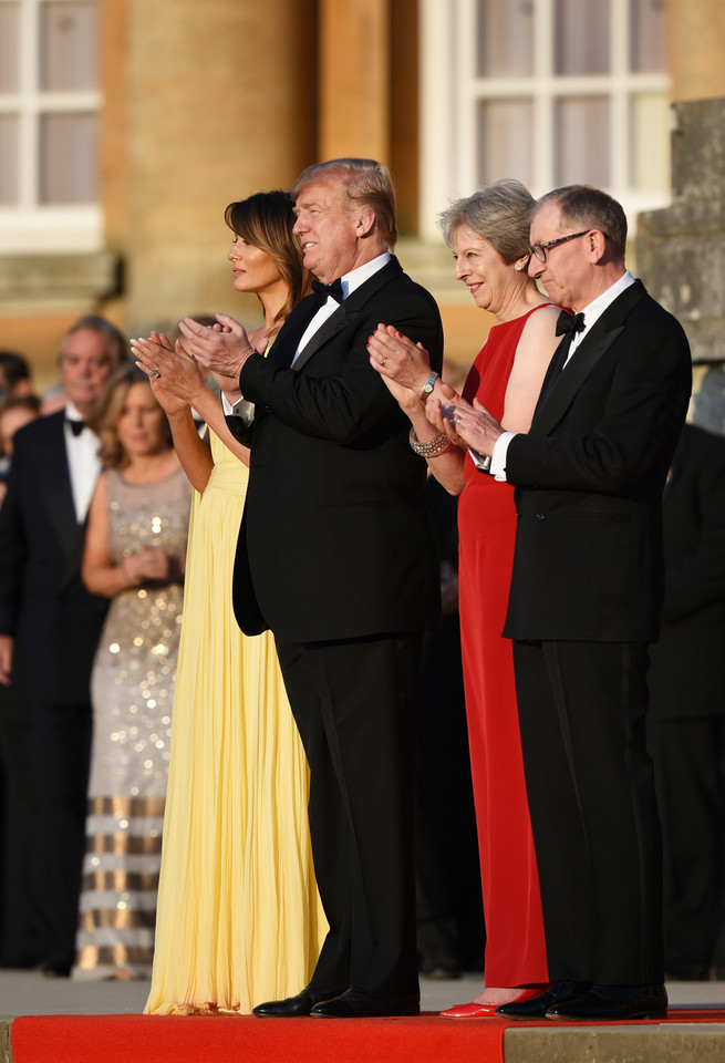 epa06884437 - BRITAIN USA DIPLOMACY (US President Trump visits the UK)