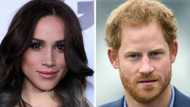 US actress Meghan Markle and Britain's Prince Harry