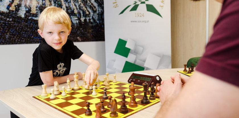 Rośnie nam geniusz szachowy. Oto najmłodszy mistrz Polski w szachach