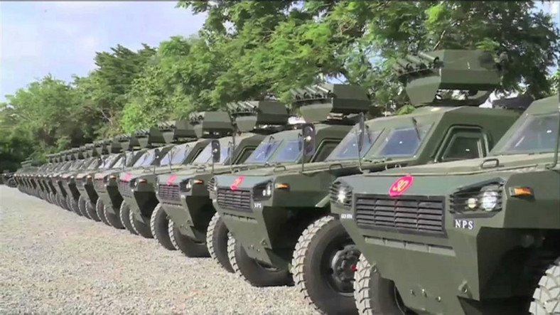 Some of the 30 VN-4s Kenya bought from China.