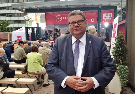 Timo Soini, lider Finaca