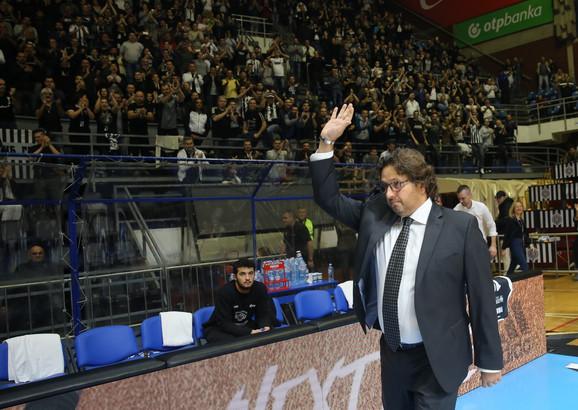 Partizan je vezao dve pobede od dolaska Andree Trinkijerija