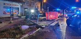 Tragedia pod Łaskiem. Nie żyje dwóch 19-latków
