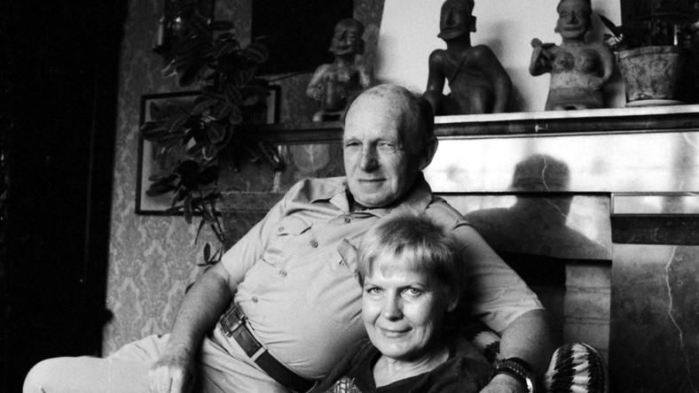 Tony Halik i Elżbieta Dzikowska