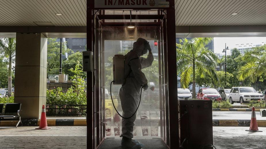 Malezja: stolica zamknięta przez co najmniej miesiąc