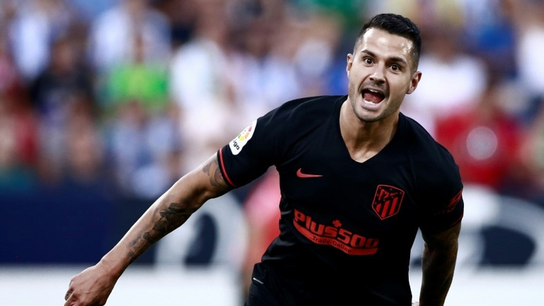 Spain's Vitolo joined Atletico from Sevilla in 2017