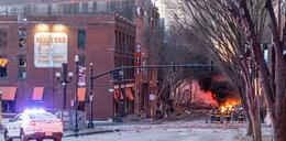 Eksplozja samochodu w Nashville. Policja znalazła ludzkie szczątki
