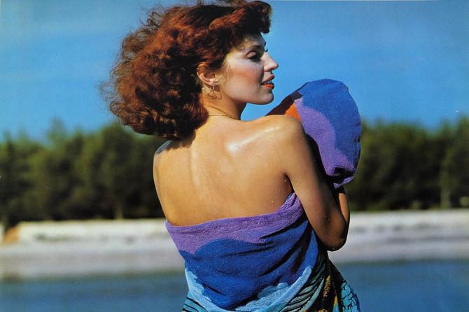 Ljiljana Perović, jedna od najlepših manekenki bivše Jugoslavije