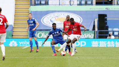 How Wilfred Ndidi and Kelechi Iheanacho fared against Manchester United