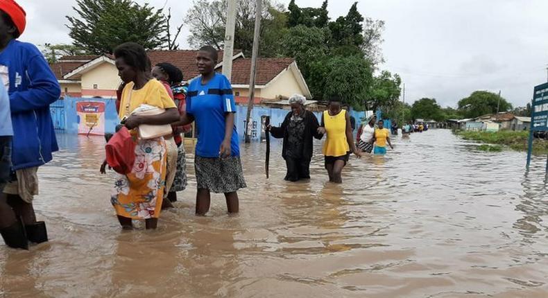 Evacuation in Kisumu County