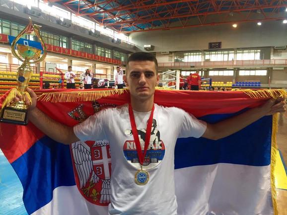 Novak Radulović ponovo najbolji na Balkanu