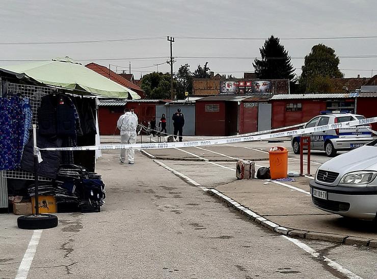 Subotica, ubistvo, pijaca
