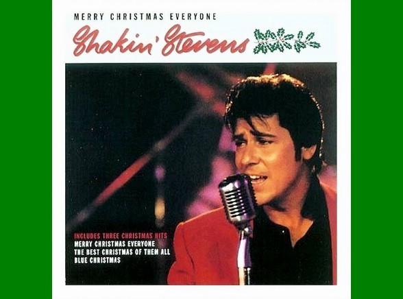"""Shakin Stevens """"Merry Christmas"""""""