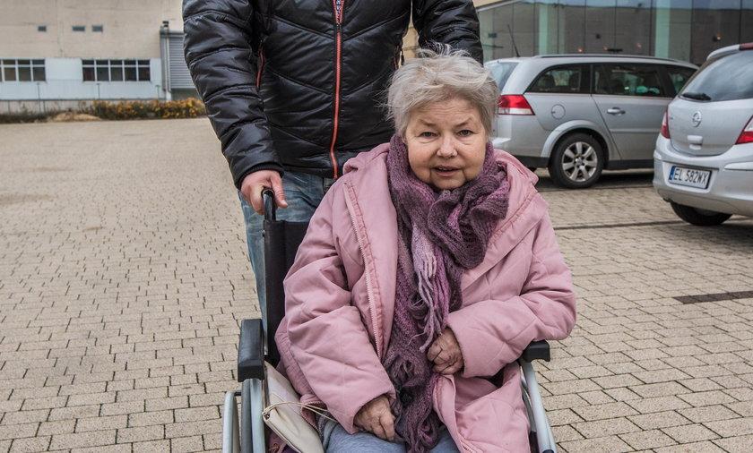 Łódź. Iwona Adamczyk przeżyła koszmar w w Centrum Rehabilitacyjno-Opiekuńczym DPS w Łodzi