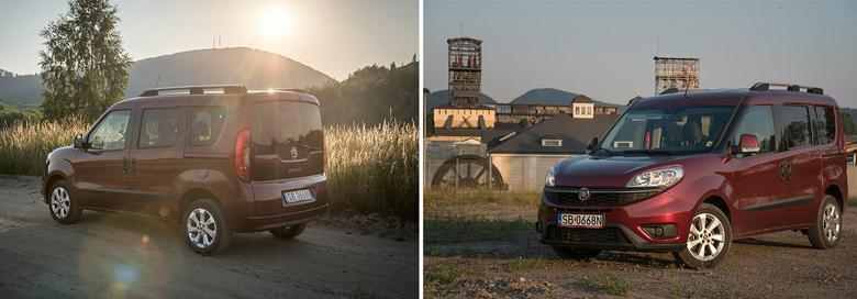 Fiat Doblo Lounge: niedawno odświeżone auto wygląda przyjemnie.