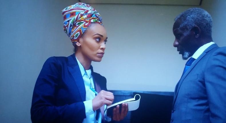 Veteran Kenya's actor Raymond Ofula features in Netflix's first African original Queen Sono