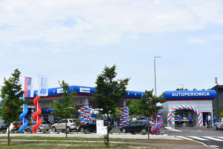 Novi Sad241 otvaranje pumpe Bobar petrol foto Nenad Mihajlovic