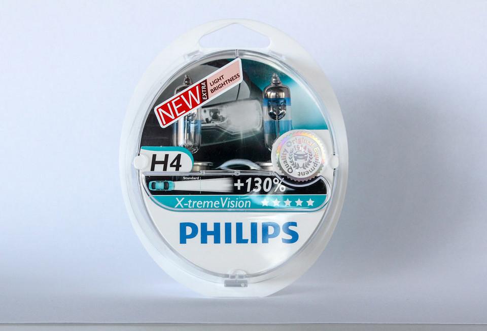 Philips Xtreme Vision + 130% цена 79 зл / комплект