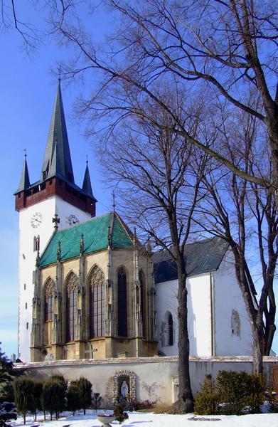 Spiski Czwartek - Kościół Św. Władysława z kaplicą Zápolyów