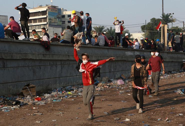 Bagdad, protesti