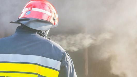 Pasłęk: pożar domu jednorodzinnego, nie żyje 86-latka