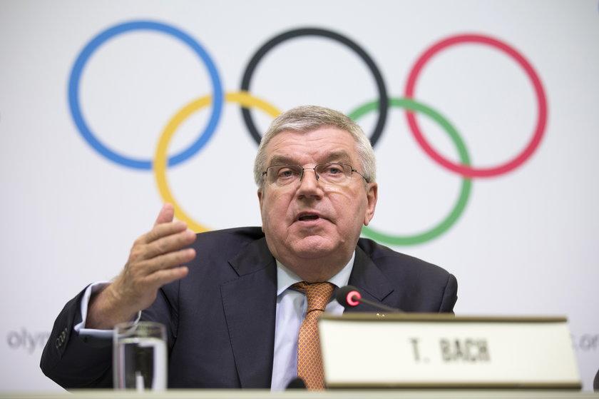 Thomas Bach (68 l.) już wie, że Ukraińcy marzą o zorganizowaniu zimowych igrzysk olimpijskich.