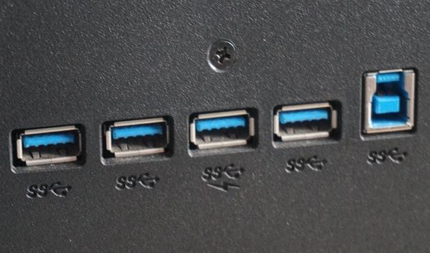 Wbudowany HUB USB 3.0, fot. własne